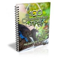 100 Gardening Tips