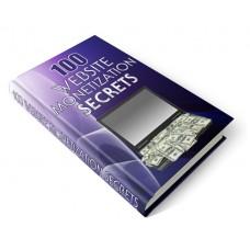 100 Website Monetization Secrets