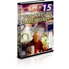 15 Top Ways To Save Money