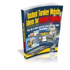 Instant Turnkey Website Ideas