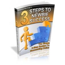 3 Steps To Newbie Success