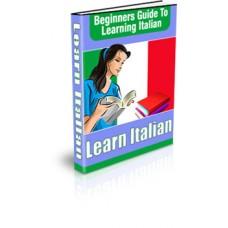 Beginner s Guide to Learning Italian