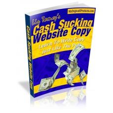 Cash Sucking Website Copy
