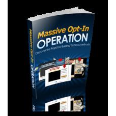 Massive Optin Operation