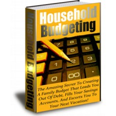 House Hold Budgeting
