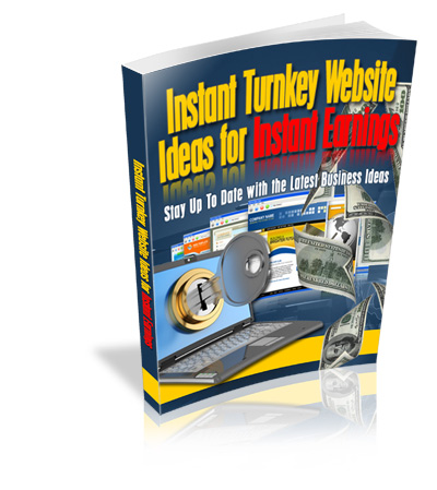 Instant Turnkey Website Ideas