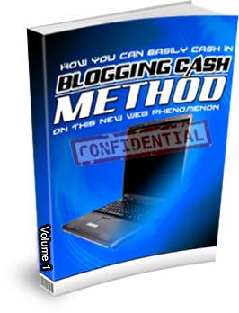 Blogging Cash Method Volume 1